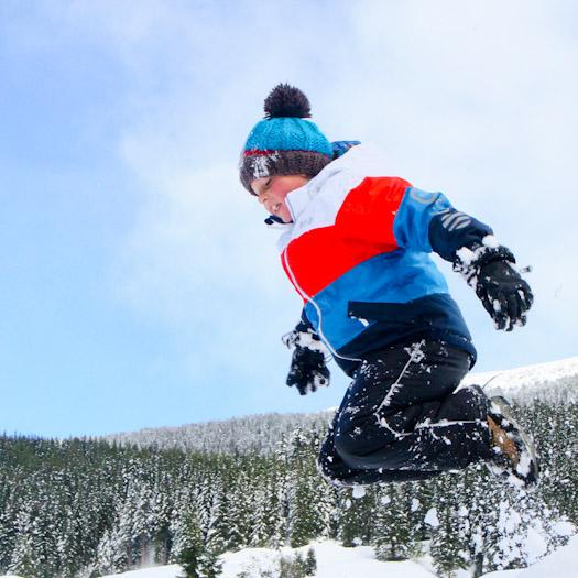 sleeen in de Berghut, wintersport met kinderen kindvriendelijk Oostenrijk (26)