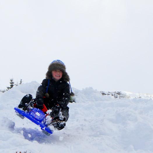 sleeen in de Berghut, wintersport met kinderen kindvriendelijk Oostenrijk (28)