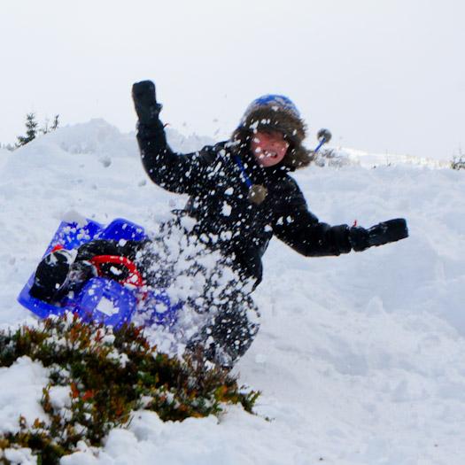 sleeen in de Berghut, wintersport met kinderen kindvriendelijk Oostenrijk (29)