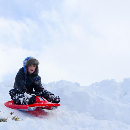 sleeen in de Berghut, wintersport met kinderen kindvriendelijk Oostenrijk (9)