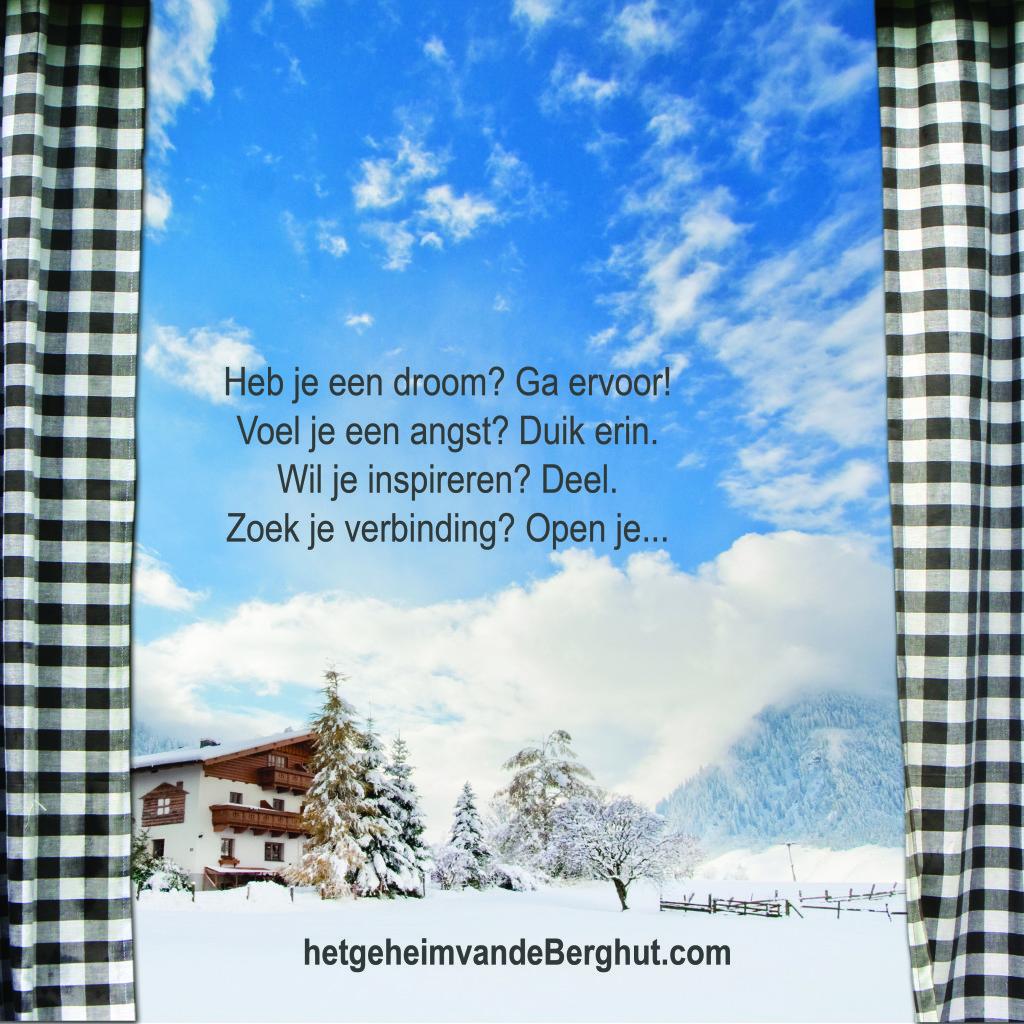 Boek het geheim van de Berghut