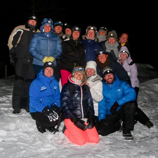 Boost Your Business in de Berghut in Oostenrijk werken in de sneeuw (10)