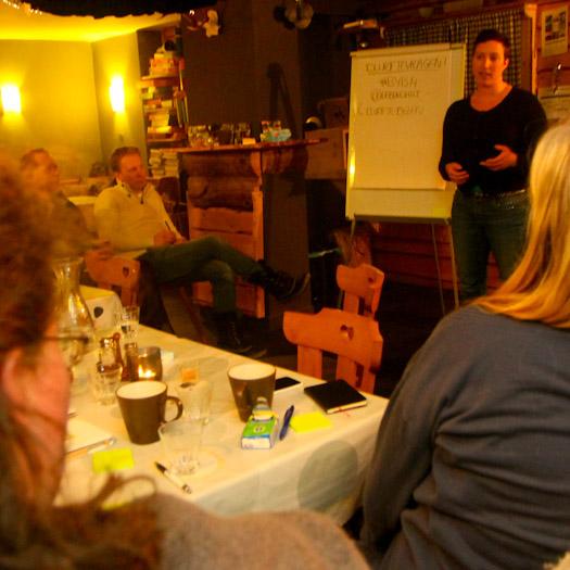 Boost Your Business in de Berghut in Oostenrijk werken in de sneeuw (25)