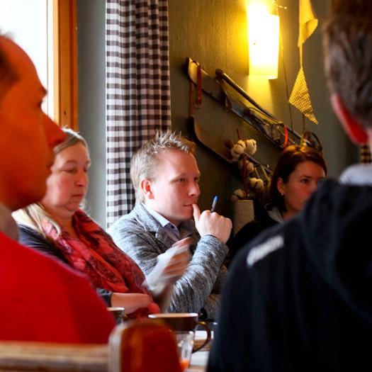 Boost Your Business in de Berghut in Oostenrijk werken in de sneeuw (30)