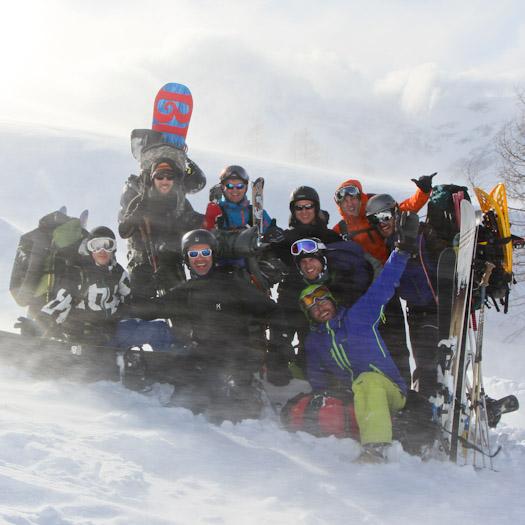Iglokamp 2014 in de Berghut Raurisertal Kolm Saigurn (38 van 39)