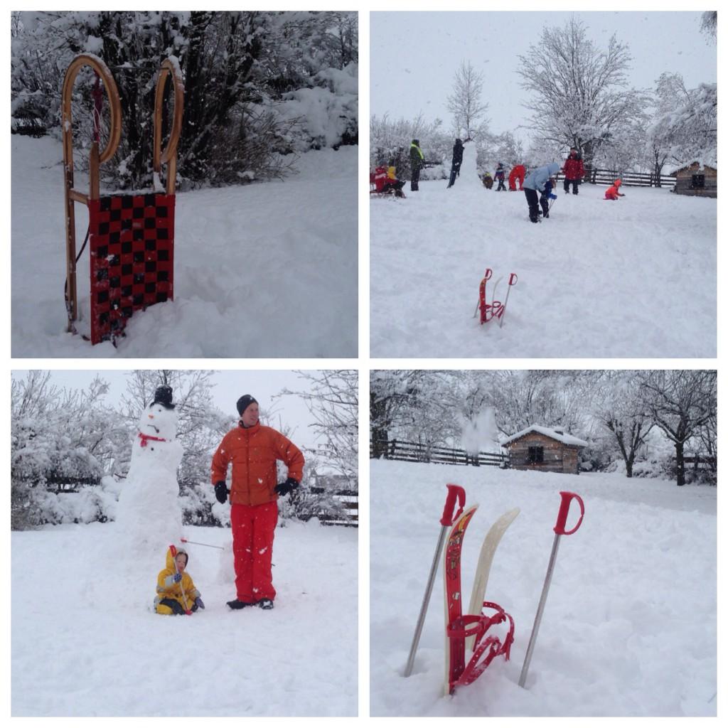 winter in maart in Oostenrijk sneeuw bij de Berghut.com Rauris