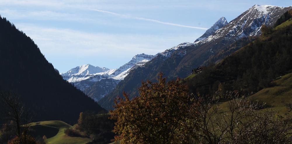 uitzicht vanuit de Berghut.com Oostenrijk vakantie teamontwikkelingbuitenland