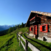 berghutje.com back to basic almhut vakantie Oostenrijk