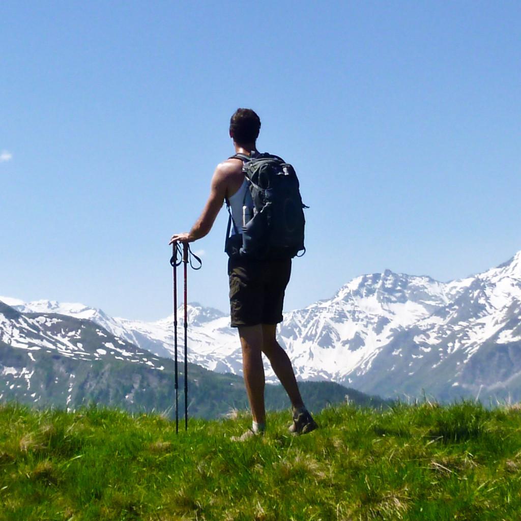 met Maarten de bergen in Raurisertal actieve vakantie met de kinderen Oostenrijk