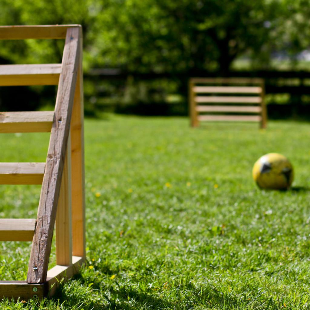nieuwe voetbalgoals de berghut rauris zomervakantie met kinderen (1 van 1)