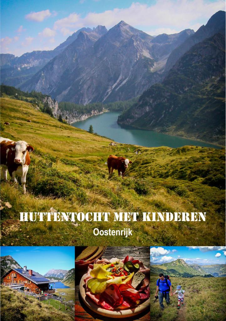 voorpagina Huttentocht met kinderen Oostenrijk
