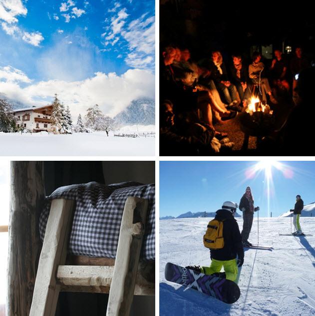 wintersport in de Berghut.com Oostenrijk