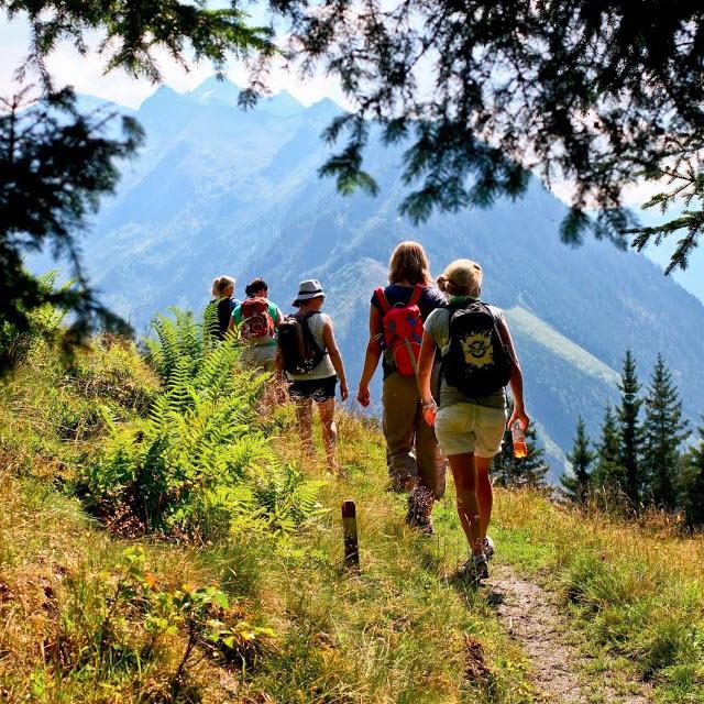 __ de Berghut.com Oostenrijk actieve vakantie met kinderen Rauris pension accomodatie bergen bergwandelen