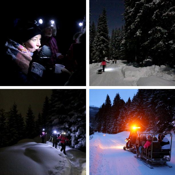 wintersport Oostenrijk inspiratie sneeuwschoenwandelen sneeuwscooter Raurisertal Kolm Saigurn deBerghut.com