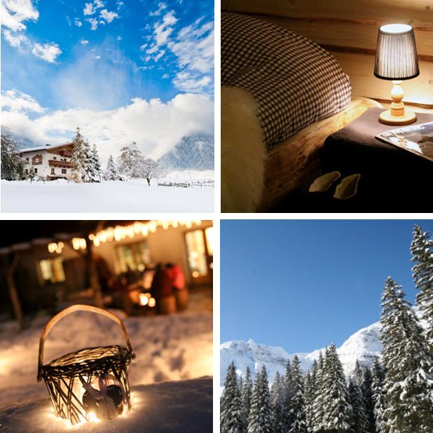 wintersport Oostenrijk inspiratie sneeuwschoenwandelen sneeuwscooter Raurisertal Kolm Saigurn nieuwetijdsweekend in deBerghut.com