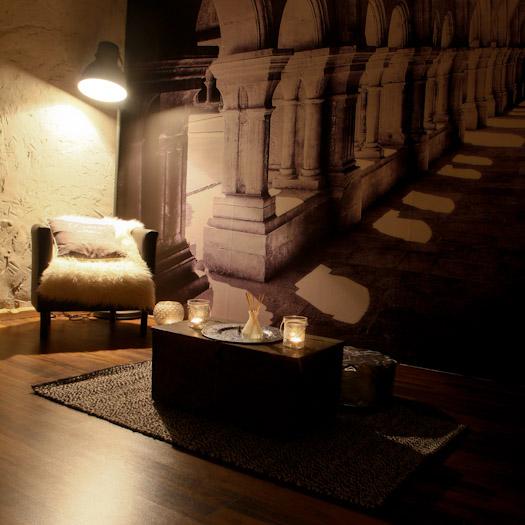 Stilteruimte fotobehang in de Berghut.com (1)