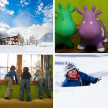 kinderopvang wintersport met kleine kinderen in Oostenrijk de Berghut.com