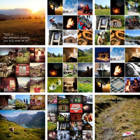 ansichtkaarten hans en Nel inspriatie ontmoeten bergbelevind deBerghut.com Berghutje.com Huttentochtmetkinderen.com PassieWijzer.nl PassieReiz.nl HipHeidi.com