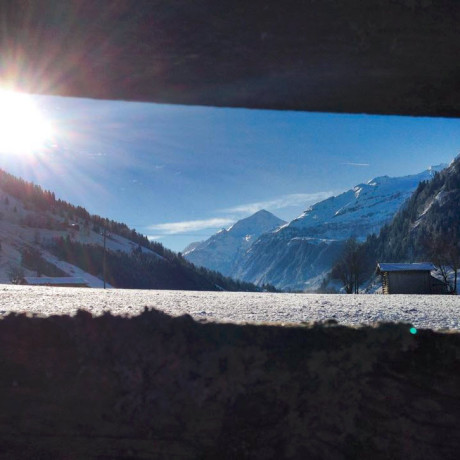 sneeuw Berghut