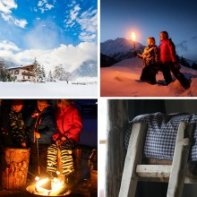 wintersport de Berghut.com familieweken in Oostenrjk gezin Rauris