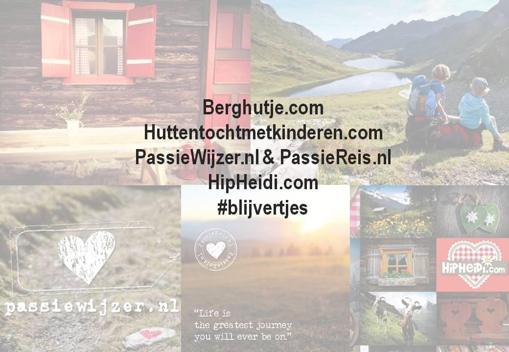 deBerghut.com Oostenrijk berghutje.com huttentochtmetkinderen.com PassieWijzer.nl PassieReis.nl HipHeidi.com