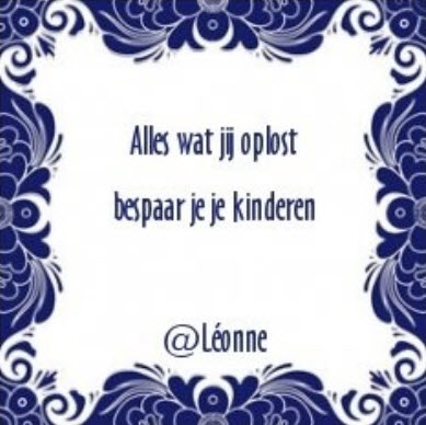 Léonne Meiresonne gidswerk.nl de nieuwe tijd persoonlijke ontwikkeling tegeltje 23