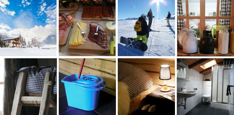 de Berghut.com winter vacature werken in hotel Oostenrijk