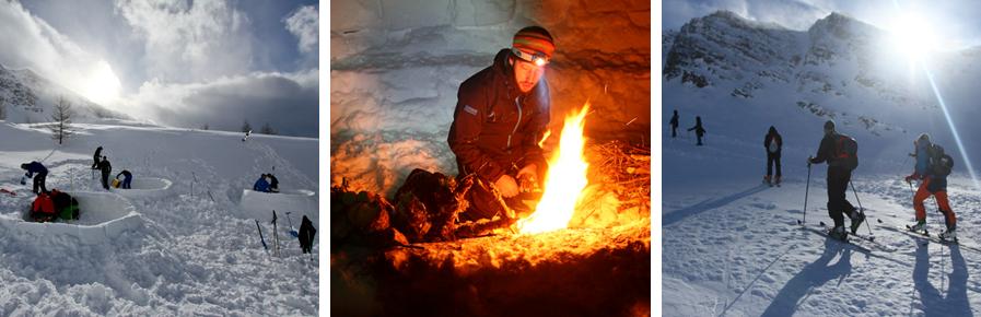 igloexperience de Berghut Fountainheads Oostenrijk ondernemers