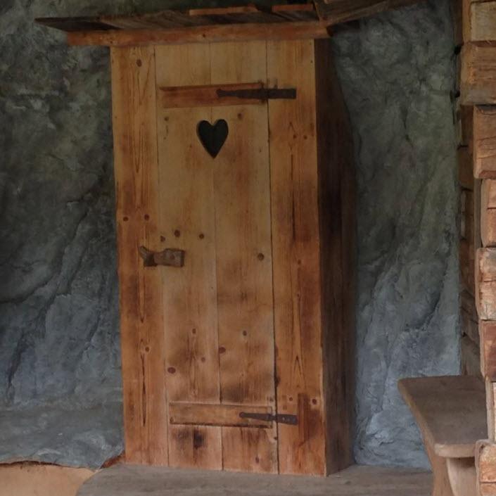 hartjesdeur hout