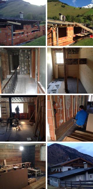 huis weer opbouwen
