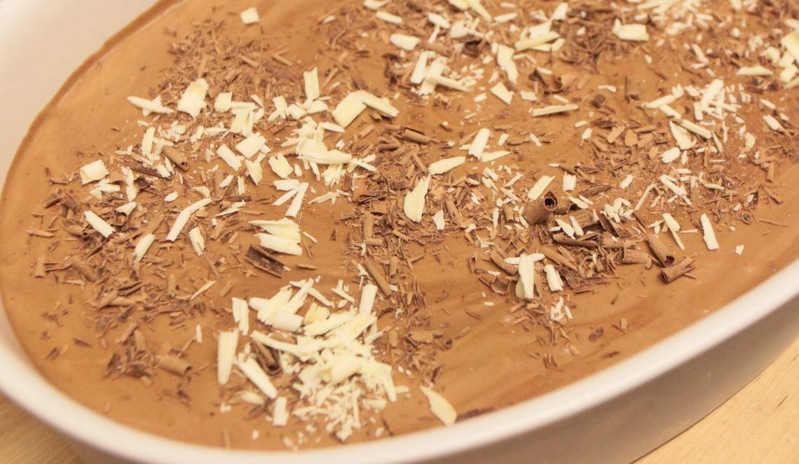 recept chocomousse maken wite chocolade deBerghut