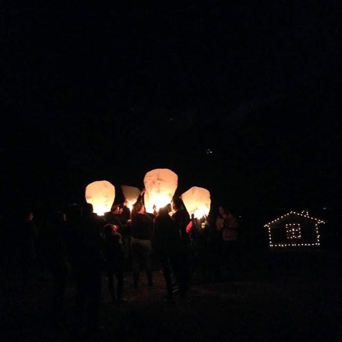 wensballon de Berghut.com vierkant
