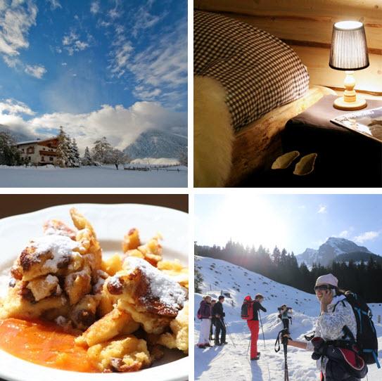 werkplek in de bergen alpen de Berghut sneeuwwerkplekweek 2