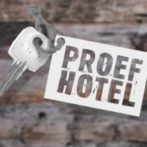 Probeer jouw vertrekdroom uit in ons Proefhotel