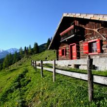 berghutje almhut bergen alpen Oostenrijk teambuilding