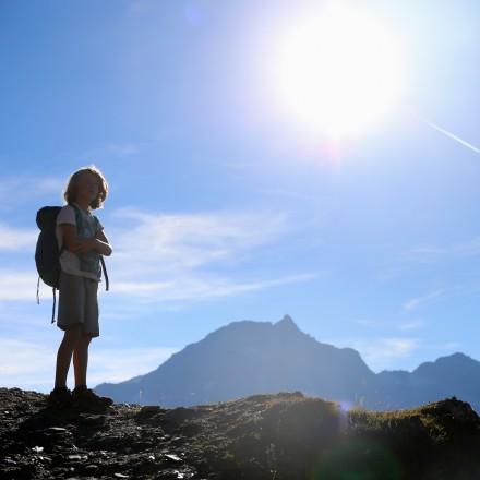 huttentocht met kinderen rauriserdal Oostenrijk