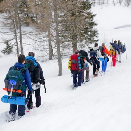 teambuilding in de bergen Alpen Oostenrijk