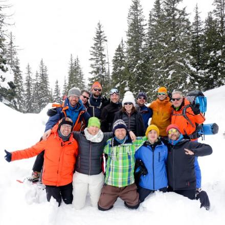 teambuilding in de bergen Oostenrijk