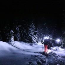teambuilding in de bergen Oostenrijk winter sneeuwschoenwandelen