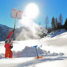 KidsSnowSurvival Berghutje Sneeuwschoenwandelen