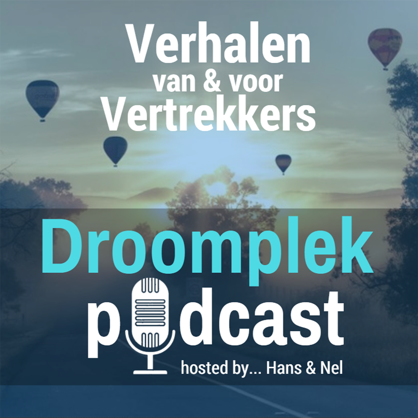 Droomplek Podcast tumbnail DroomplekAcademie ik vertrek verhalen interviews