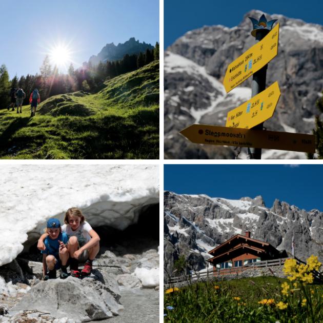Huttentochten met kinderen in Oostenrijk
