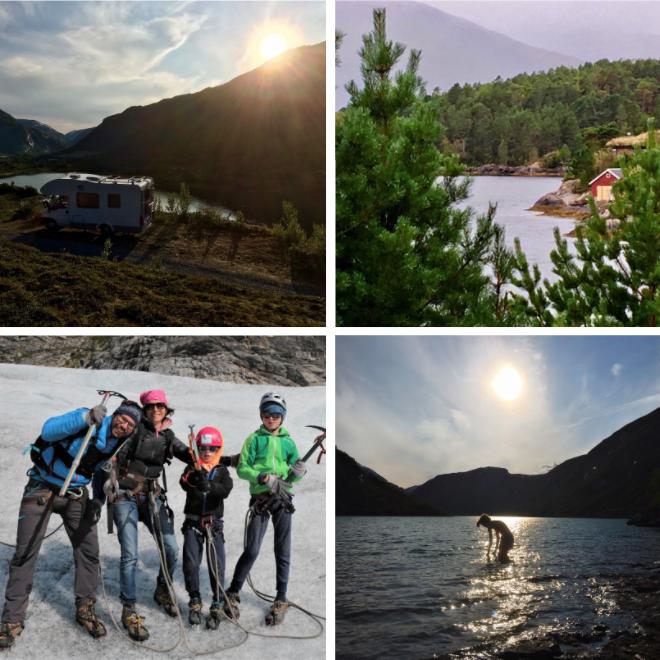 Noorwegen camper vakantie
