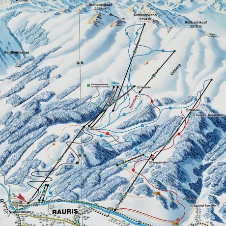 de Berghut Appartemten Apartments kindvriendelijk wintersport wintersportgebied Rauris Oostenrijk Zell am See skiën (24)
