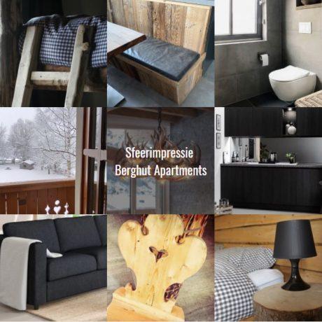 sfeerimpressie Berghut Apartments appartementen Rauris Oostenrijk Salzburgerland