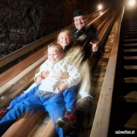 Salzwelten Hallein Raurisertal de Berghut.com zomervakantie kindvriendelijk Oostenrijk