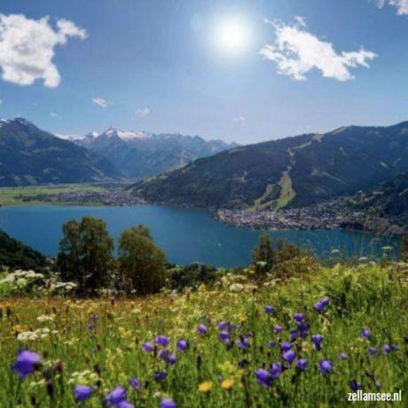 Zell am See de Berghut appartementen zomervakantie kindvriendelijk vakantiewoningen Rauris Oostenrijk Salzburgerland