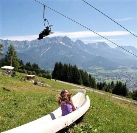 Zomerrodelen Raurisertal de Berghut.com zomervakantie kindvriendelijk fakkelwandeling Oostenrijk
