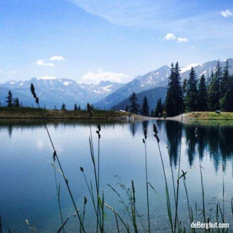 de Berghut appartementen zomervakantie kindvriendelijk vakantiewoningen Rauris Oostenrijk Salzburgerland bergmeertje