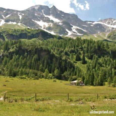 de Berghut appartementen zomervakantie kindvriendelijk vakantiewoningen Rauris Oostenrijk Watervalweg